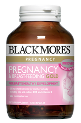 Blackmores Pregnancy & Breast Feeding Gold Capsules 120