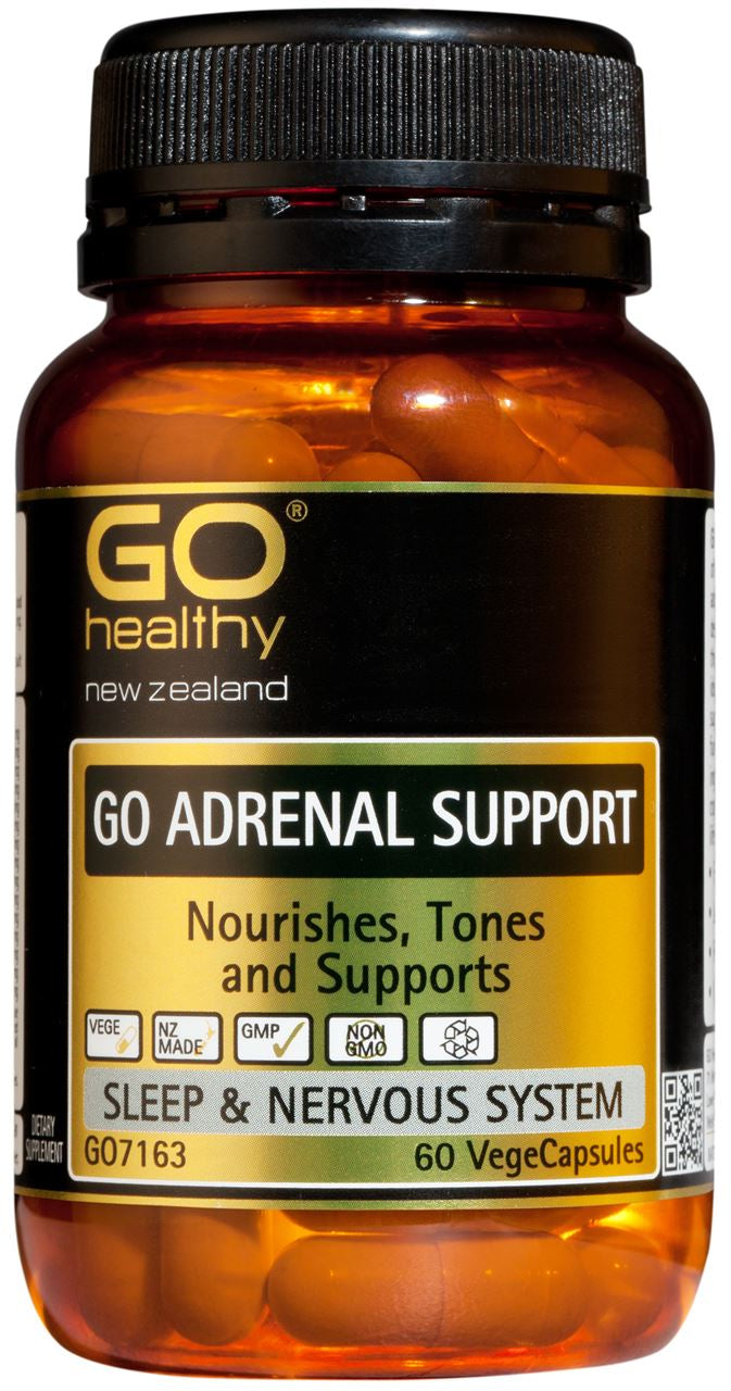 Go Healthy Adrenal Support Capsules 60