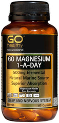 Go Healthy Magnesium 1-A-Day Capsules 60