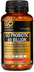 Go Healthy Probiotic 40 Billion VegeCapsules 90