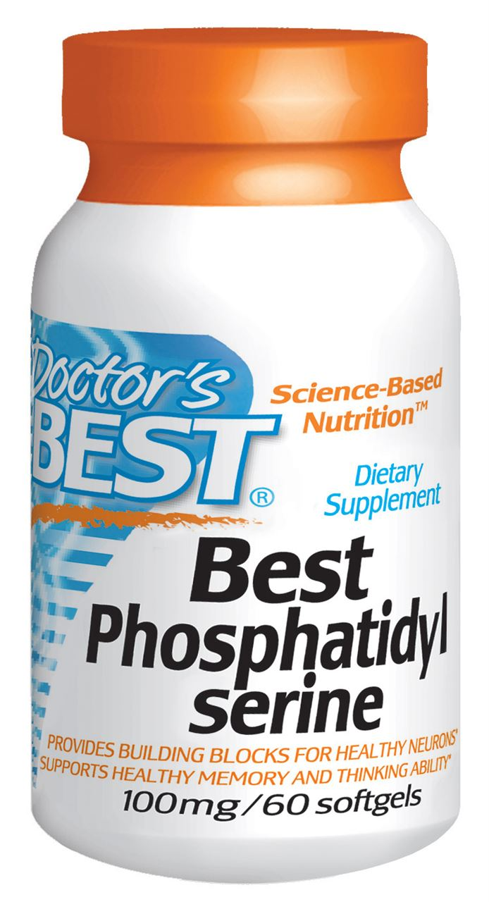 Doctor's Best Phosphatidyl Serine 100mg Tablets 60