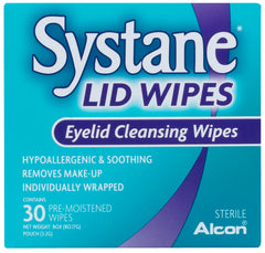 Systane Lid Wipes Pre-Moistened Wipes 30