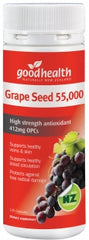 Good Health Grape Seed 55000 Extra Strength Antioxidant Capsules 120