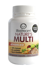 Lifestream Nature's Multi Advanced Vegetarian Capsules 120