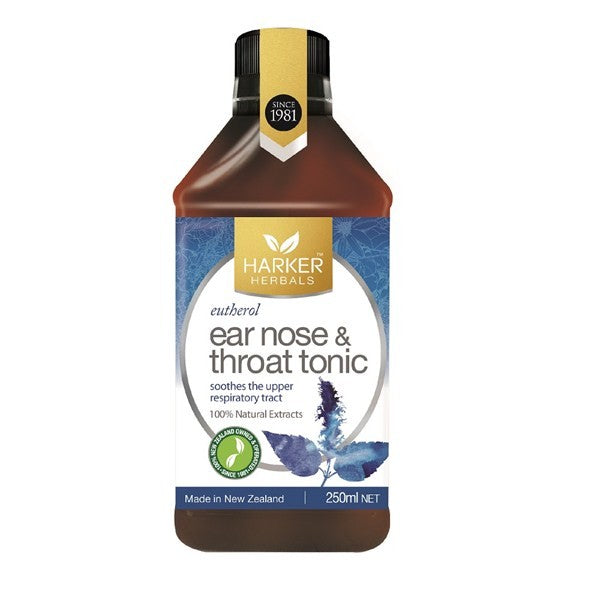 Malcolm Harker Herbals Ear Nose & Throat Tonic Formula 713 (Eutherol) 250ml
