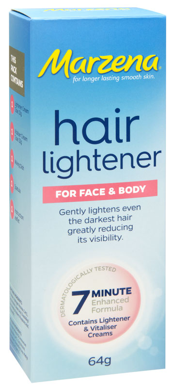 Marzena Hair Lightener For Face & Body 64g