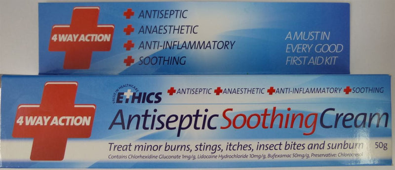 Ethics Antiseptic Soothing Cream 50g