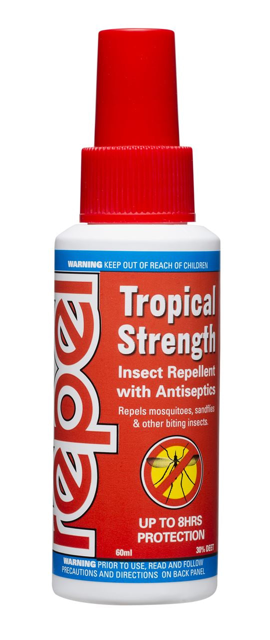 Repel Tropical Strength Insect Repellent Pump Spray 60ml