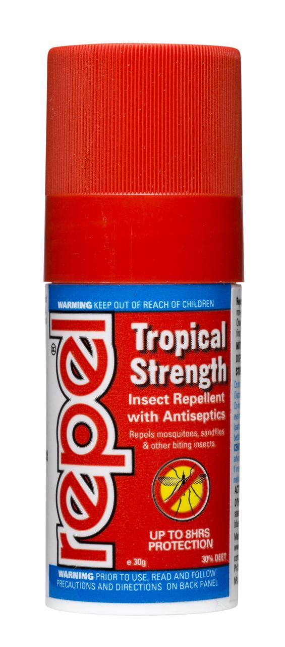 Repel Tropical Strength Insect Repellent Stick 30g