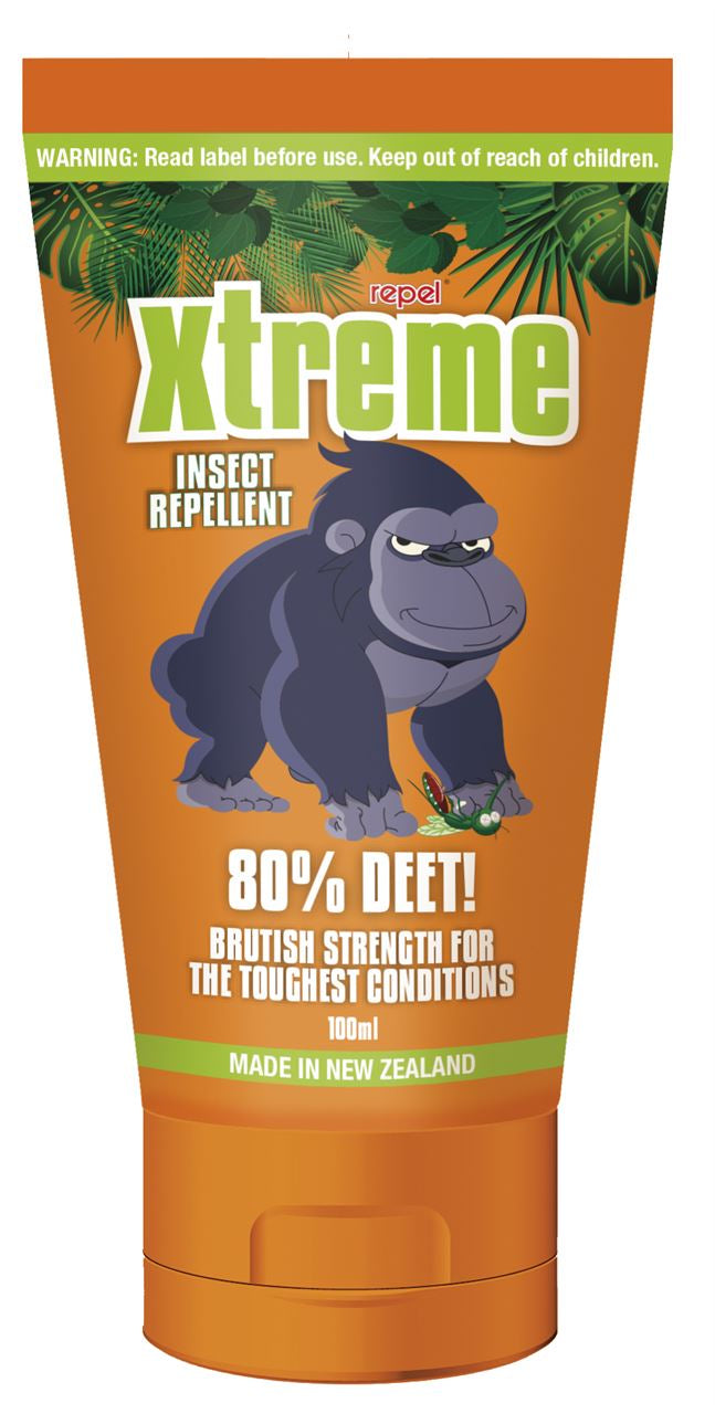Repel Xtreme Insect Repellent 80% DEET 100ml