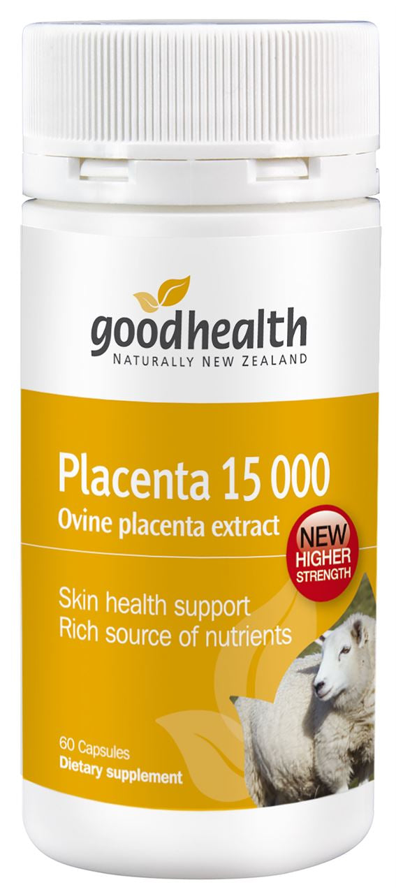 Good Health Placenta 15000 Capsules 60
