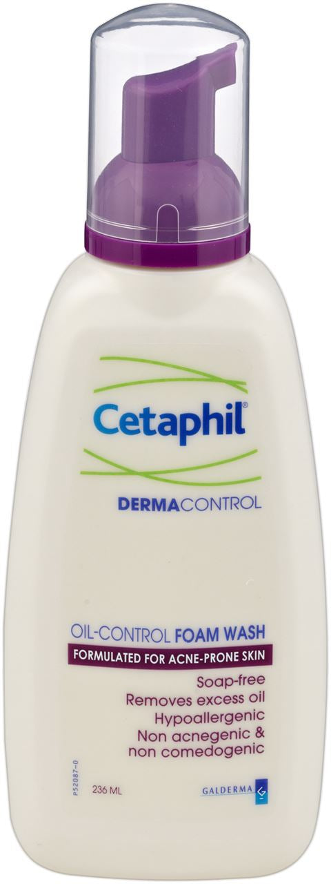 Cetaphil Pro Acne Prone Oil Control Foam Wash 236ml