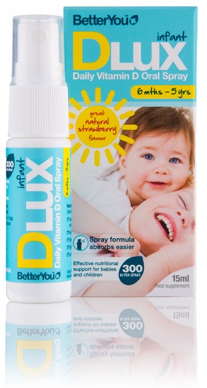DLux Infant Daily Vitamin D Oral Spray 15ml