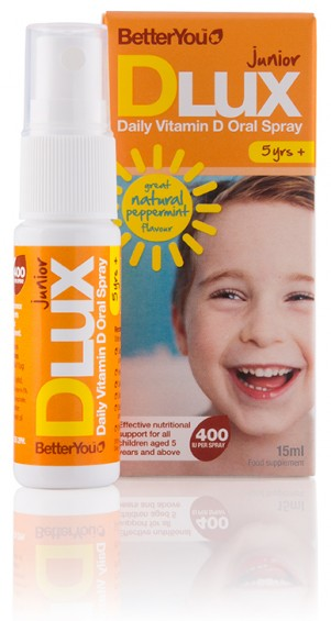 DLux Junior Daily Vitamin D Oral Spray 15ml