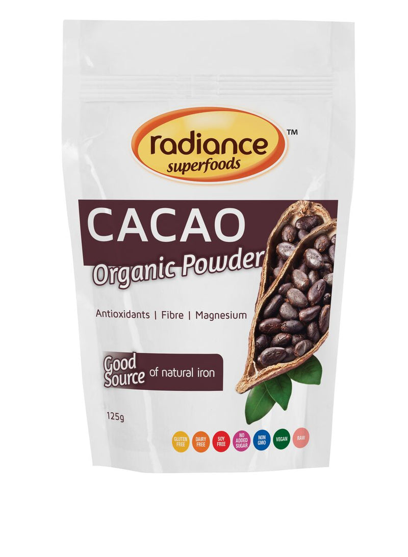 Radiance Superfoods Cacao Powder 125g