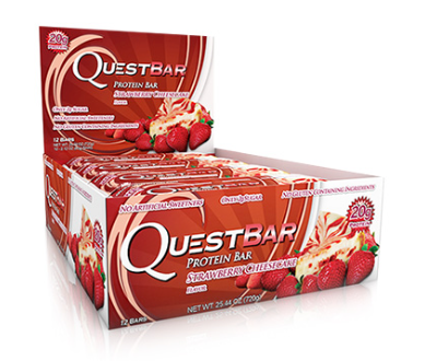 Quest Bar Strawberry Cheesecake 60g x 12