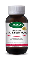 Thompsons Grape Seed 19000 One-A-Day Tablets 120