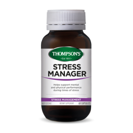 Thompsons Stress Manager Capsules 60