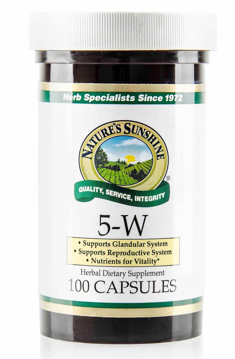Nature's Sunshine 5-W Capsules 100