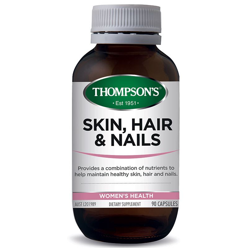 Thompsons Skin, Hair and Nails Capsules 90