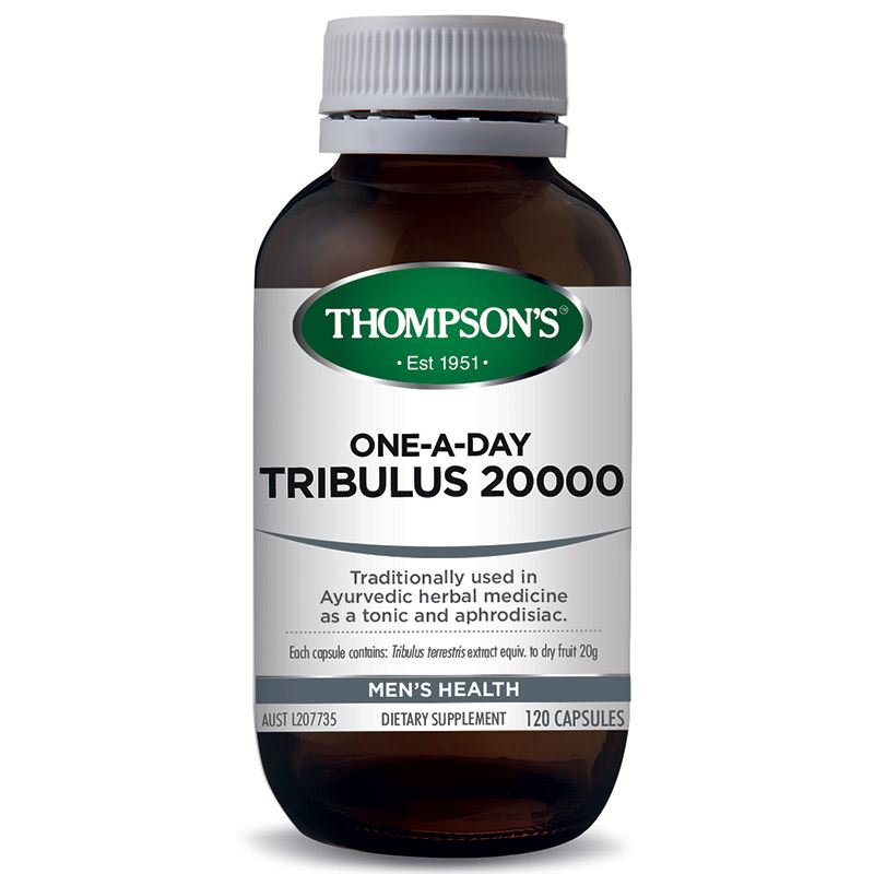 Thompsons Tribulus 20000 One-A-Day Vegetarian Capsules 120