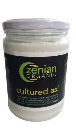 Zenian Organic Raw Virgin Coconut Oil (Fermented Process) Philippines 500ml