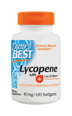 Doctor's Best Lycopene with Lyc-O-Mato 10mg Softgels 120