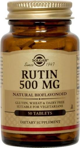 Solgar Rutin 500mg Tablets 50