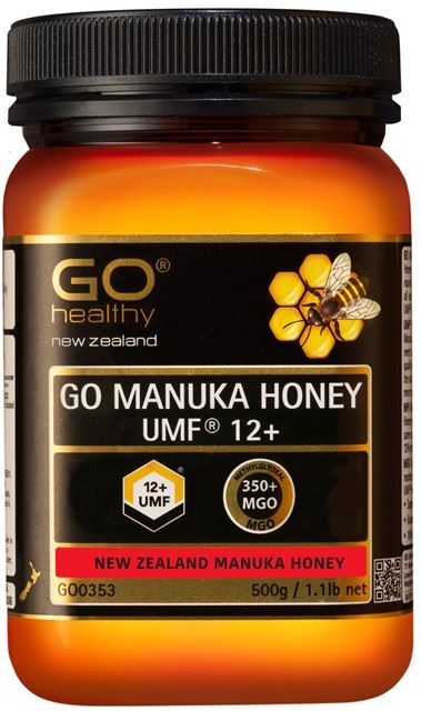 Go Healthy Manuka Honey UMF 12+ (MGO 350+) 500g