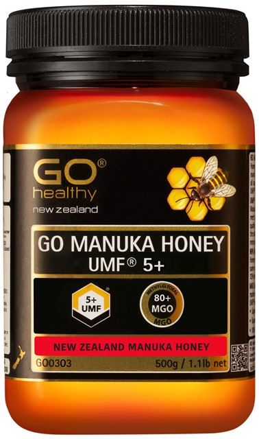 Go Healthy Manuka Honey UMF 5+ (MGO 80+) 500g