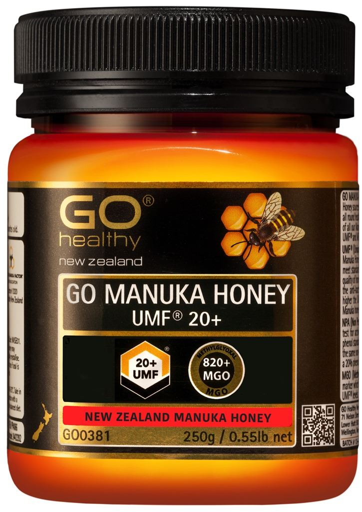 Go Healthy Manuka Honey UMF 20+ (MGO 820+) 250g