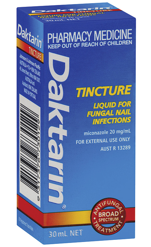 Daktarin Tincture Liquid for Fungal Nail Infections 30ml - Limit of 1 per customer