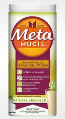 Metamucil Powder Regular 72 Dose 504g