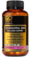 Go Healthy Beautiful Skin Collagen Support Capsules 120