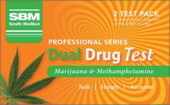 Smith BioMed Professional Marijuana & Methamphetamine Drug Test 2