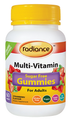 Radiance Sugar Free Multi-Vitamin Gummies for Adults 60