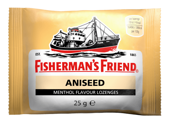Fishermans Friend Aniseed Flavour Menthol Lozenges 25g