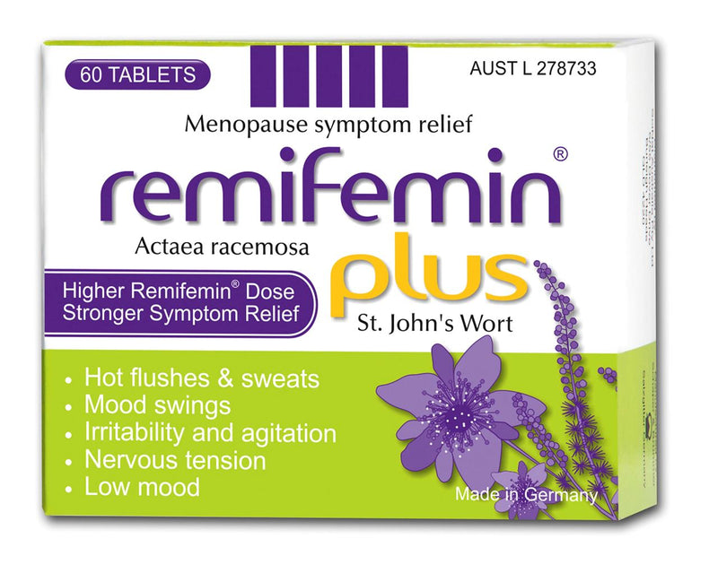 Remifemin Plus St John's Wort Tablets 60