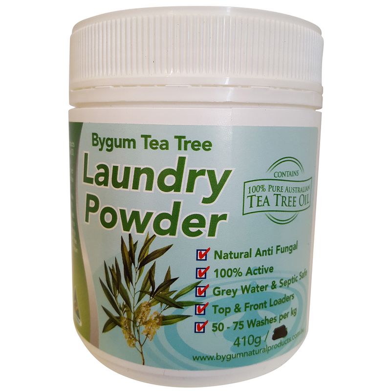 Bygum Tea Tree Laundry Powder 410g