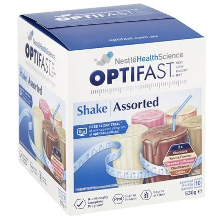 Optifast Assorted Shakes 10 x 53g