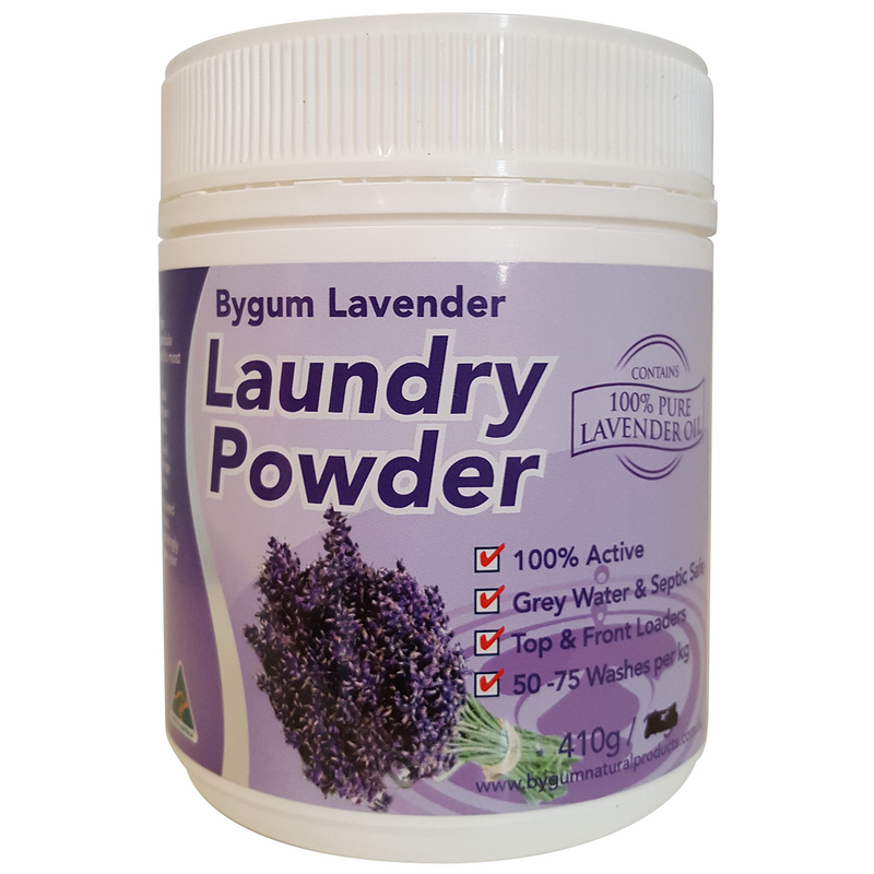 Bygum Lavender Laundry Powder 410g