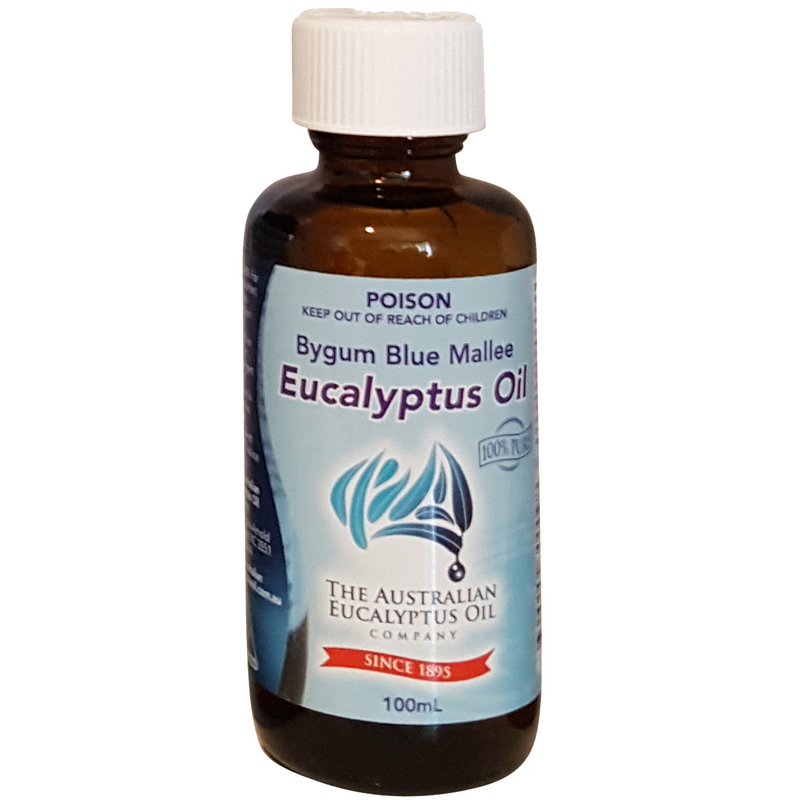 Bygum Blue Mallee Eucalyptus Oil 100% Pure 100ml