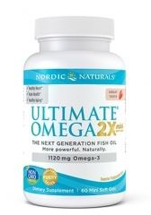Nordic Naturals Ultimate Omega 2 x Mini Soft Gels 60