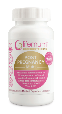 Lifemum Post Pregnancy Multi Capsules 60
