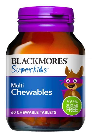 Blackmores Superkids Multi Chewable Tablets 60