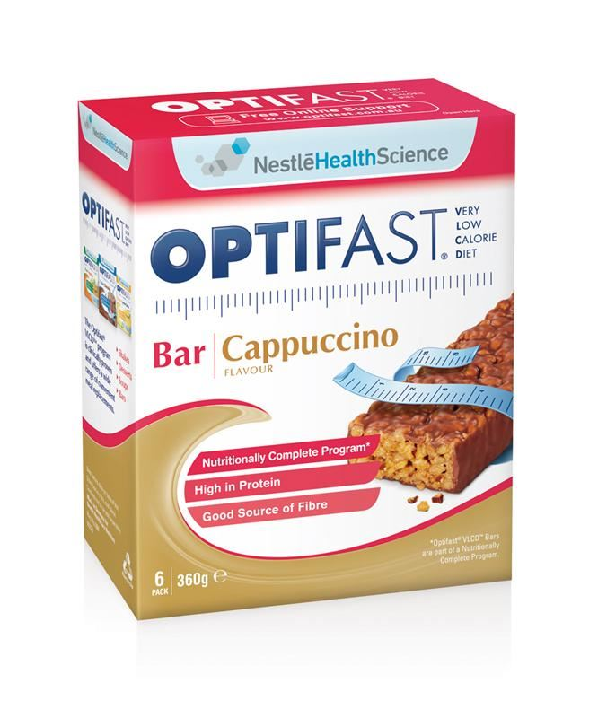 Optifast VLCD Bar Cappuccino 6 x 60g