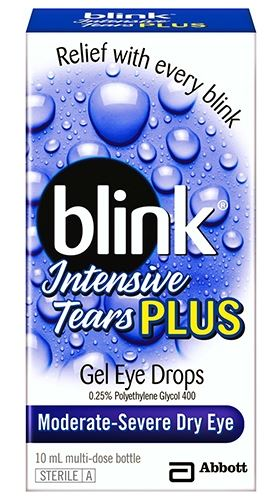 Blink Intensive Tears Plus Gel Eye Drops 10ml