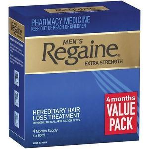Regaine Extra Strength 4 x 60ml (4 Months Supply)