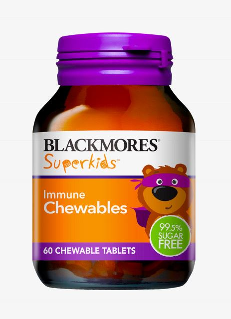Blackmores Superkids Immune Chewable Tablets 60