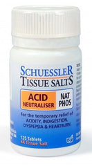 Schuessler Tissue Salts Nat Phos - Acid Neutraliser Tablets 125